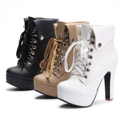 53d95c07820 wholesaler free shipping factory price hot seller ankle women high heel  platform Martin women lady boot