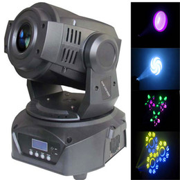 Wholesale Gobo Projectors Led - Newly 60W LED Gobo Moving Head Lighting 14CH Spot Light 3-Prism for Christmas Projector Bar Party Event Show