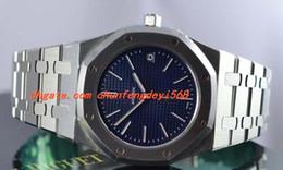orologi di lusso sottili del mens Sconti Fashion Luxury Watches Ultra Thin st.oo.1240st.01 Orologio da uomo automatico da uomo con quadrante blu 39mm Orologio da uomo