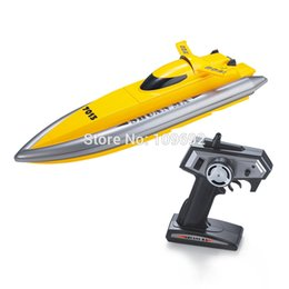 Wholesale Rc Toys Racing Boat - Wholesale- Free shipping Hot sale Radio Remote Control RC Racing Speed Electric Toys Model Ship Children Gift Oversized Boats Ship DH7013