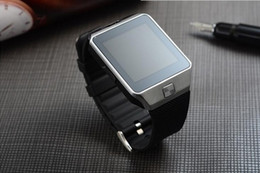 Wholesale Touch Mobile Wrist Watch - The latest DZ09 fashion Bluetooth smart watch and SIM card Apple Samsung IOS Android watch mobile phone 1.56-inch touch screen DHL free