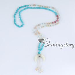108 mala collana di perline mala braccialetto indiano buddista perline preghiera japa malas braccialetto di preghiera collana a mezzaluna chanting perline meditazione da