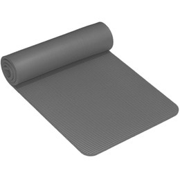 Wholesale Yoga Mat Mm - Wholesale-NBR yoga mat manufacturers 10mm thickening 61cm widen non slip environmental protection and tasteless non slip yoga mat
