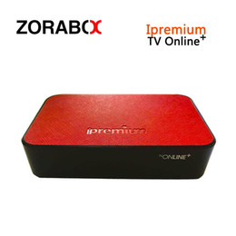 Wholesale Tv Receivers Box - Ipremium Tv Online+ Original Iptv Box With MediaPro Channels Smart Android Tv Box Better Than MAG254 250 256 IPTV Set Top Box