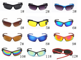 Wholesale Electric Car Ride - Newest Summer Man Sport Cycling Sunglasses Explosion - Proof Sunglasses Outdoor Riding Glasses Electric Car Bike Motorcycle Sunfree Shipping