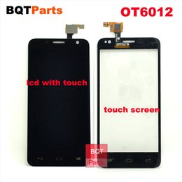 Wholesale Alcatel One Touch Mini Idol - Replacement TOuch screen for Alcatel One Touch Idol mini 6012 OT6012 OT6012D 6012X LCD Display with Touch Screen Digitizer Assembly