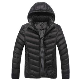 Wholesale Eiderdown Coat - North of the new 2017 eiderdown cotton coat cotton-padded clothes man male winter coats coat Youth short cotton-padded jacket L - XXXXL