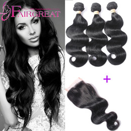 Wholesale Mongolian Weave Prices - Indian Body Wave Hair Weaves 3Pcs lot Body Wave Indian Human Hair Weaves Lace Closures With Indian Human Hair Bundles Wholosale price
