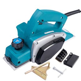 Wholesale Brand New W Pro Powerful Electric Wood Planer Door Plane Hand Held Woodworking Surface New