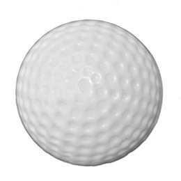 Wholesale Sports Training Aids - Wholesale- 100Pcs Hollow Golf Balls Indoor Practice Training Balls Golf Training Aids Golf Accessories Outdoor Sports