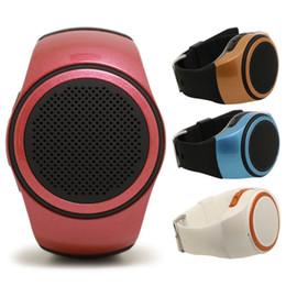 Wholesale Style Watch Phone - B20 Portable Wireless Bluetooth Watch Style Speaker Selfie with FM Radio TF Card