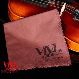 Wholesale Violin Polish - Violin cleaning instrument, special cleaning cloth for Piano instrument, cleaning, nursing, polishing, dustproof, erhu, guitar fittings, clo