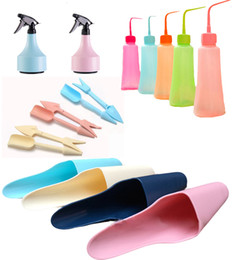 Wholesale Wholesale Containers For Water - Small Quantity Wholesale 4pcs-Set Garden Tool Plastic Scoop+Puncher+Watering Can For Garlands Decor Planting Outdoor Plants Water Container