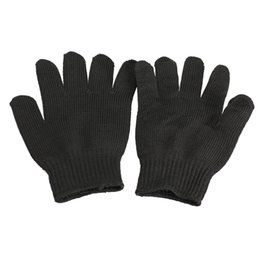 Wholesale Motorcycles Parts Gloves - Wholesale- Soft Cut-resistant Anti Abrasion Antiabrasion Anti-tearing Safety Protective Gloves Car Motorcycle Accessories & Parts ME3L