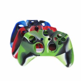 Wholesale Xbox One Silicone Case - Camouflage Rubber Silicone Handle Protective Sleeve For Xbox One Controller Protection Sleeve