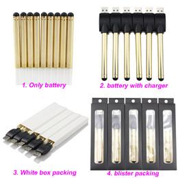 Golden O stylo vape bourgeon tactile batterie avec chargeur USB 510 fil e cartouches de cigarettes cire huile stylos pour cartouches stylo vaporisateur CE3 ? partir de fabricateur