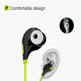 портативные bluetooth-наушники Скидка Портативный шейный с шумоподавлением стерео спорт в наушниках работает QY7 беспроводной Bluetooth 4.1 наушники БЕСПЛАТНАЯ ДОСТАВКА