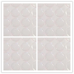 Wholesale Epoxy Domes Stickers - 1 2' Circle Pendants crafts Scrapbooking clear epoxy sticker Resin Dot 3D dome Adhesive Stickers