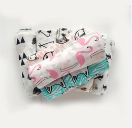 Wholesale muslin swaddling blankets wholesale - Baby Muslin Swaddles Organic Cotton Wraps 31 Style Ins Blankets Nursery Bedding Newborn Ins Swadding Bath Towels Parisarc Robes Quilt Robes