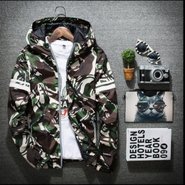 Wholesale Spring Hooded Jacket Mens - YEEZUS camo 3m reflective kanye west jacket anorak men women softshell camouflage bomber jacket windbreaker y-3 mens spring jackets
