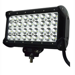 "Wholesale Quad 12v - 108W 9"" Quad Row LED Light Bar 12v Work Lamp Spot Offroad Mining Truck,Wholesale led car lights"