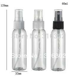 Wholesale Clear Glass Spray Bottles - 50 x 60ml Pet Clear Plastic Spray Bottles Empty Refill 2 Oz Mist Pump Perfume Travel