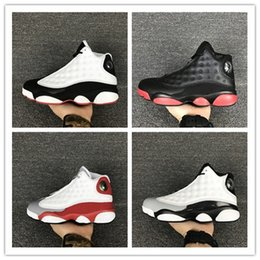 Wholesale Reflect Free - Top Quality Retro 13 OG Black Cat Basketball Shoes 3M Reflect For Men Sports Training Sneakers High Quality Free Shipping