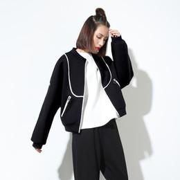 Wholesale Air Legs - Autumn new European leg of the air layer collar jacket baseball uniform jacket tide