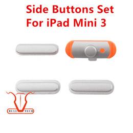 Wholesale Mini Lock Key Wholesale - 3 in 1 Side Key Set Lock Button Power Key Switch OnOFF + Mute Switch Button + Volume Key for iPad Mini 3