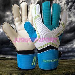 Wholesale 3mm Gloves - Jusdon 3mm Latex Soccer Professional Goalkeeper Gloves Goalie without fingersave FootballBola De Futebol Gloves Luva De Goleiro