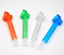 Reisender Plastiktabakkraut Rohr-tragbare Wasser-Huka-Schraube auf Flaschenkonverter mit tragbaren Wasser-Pfeifen der Glasanlage von Fabrikanten