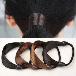 Wholesale Hair Circle Rubber Bands Rope - Circle Manual Twist Rubber Headband Rope Ring Elastic Hair Bands Hair Accessories For Women Scrunchy Girls Hair Braider Tools