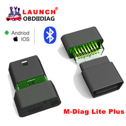 Wholesale Launch X431 Android - Launch X431 M-Diag Lite Plus For Android & IOS 2 in 1 OBD2 Scanner With 1 Free Vehicle Software Batter Than Idiag, Easy Diag2.0