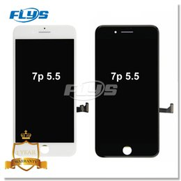 Wholesale Iphone Screen Replacement For Free - Grade AAA+++ For iPhone 7 Plus LCD Screen Display Touch Digitizer 3D Touch with Frame Full Assembly Replacement Free DHL