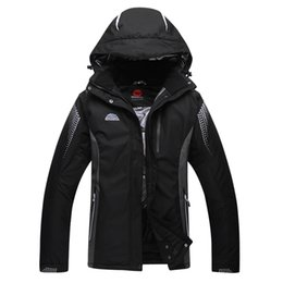 Wholesale Blue Mountains Ski - Wholesale- Free shipping High Quality Ski Jackets men Waterproof Winter Snow Jacket Coat For Outdoor Mountain Skiing Snowboard Jacket