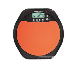 Wholesale Practice Drum Pad Electronic - Electronic Dumb Drill Strike Plate Rack Drum Trainer Metronome Enlightenment Jazz Drum Practice Pad Drummer Trainer Rhythm Testing