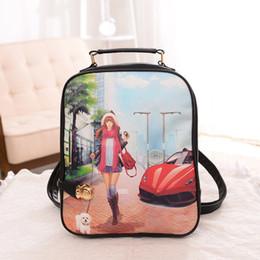 Wholesale Types Girl Backpacks - 2107 Fashion Women Backpack High Quality Youth Leather Backpacks for Teenage Girls Female School Shoulder Bag Bagpack mochila Free Shipping