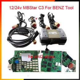 Wholesale Star Tester - New Discount Diagnostic Multiplexer Tester MB Star C3 With All Cables diagnostic tool For truck cars and new version mb star c3