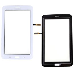 Wholesale T111 Touch Panel - White Black T110 T111 Touch Panel for Samsung Galaxy Tab 3 Lite T111 T110 Touch Screen Digitizer Panel Free Dhl