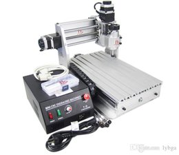 Wholesale Desktop Drill Machine - russian free taxes desktop cnc mill machine CNC 3020T-DJ wood Router Engraving Drilling and Milling Machine for metal cutting