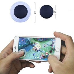 Wholesale Mini Joypad - Mobile Joysticks NEW Mini Touch Screen Stick Mobile Joystick Joypad Controller for smartphone with retail Packages