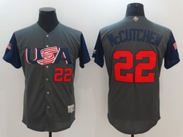 Wholesale Black Paul Goldschmidt Jersey - 2017 USA World Baseball Classic WBC Jersey 10 Adam Jones 24 Andrew Miller 28 Buster Posey 32 Michael Fulmer 44 Paul Goldschmidt Jerseys
