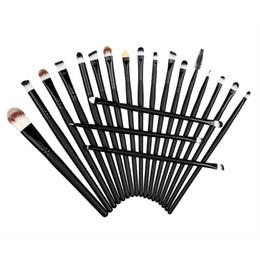 Wholesale eyebrow make - Makeup Brushes 20pcs Cosmetic Brush Set Face Powder Foundation Eyebrow Eyeshadow Eyeliner Lip Brush Make Up Tools pincel maquiagem