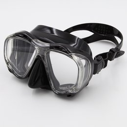 Wholesale Adult Diving Mask - Wholesale-Whale New Coming Scuba Snorkeling Diving Mask with HD Tempered Lenses Multi Color For Adult MK-700