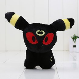Wholesale Plush Toys China - 5'' Pikachu Umbreon Plush Doll Toy Umbreon Stuffed Plush Christmas Gifts For Children Made In China