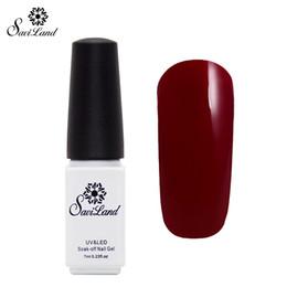 Wholesale Nail Polish Colors For Sale - Wholesale-Saviland 1pcs Hot Sale Color UV Gel Polish Top &Base Coat For Nail Soak-off LED UV Gel Varnishes 29 Colors Nail Set
