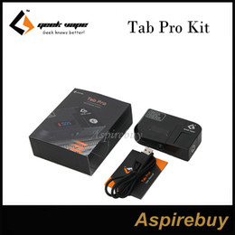 Wholesale Ohms Meters - Geekvape Tab Pro Ohm Meter Reader 90° Rotatable Connector 521 Tab Pro Kit Usable as Mod to Test Builds Suit for 18650 battery 100% Original