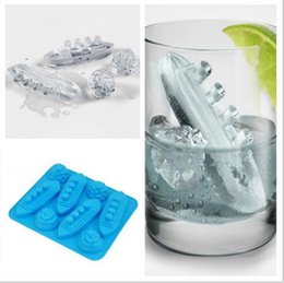 Wholesale Ice Cream Stands - Titanic Ice Mold Silicone Mold Cooking Tools Cookie Cutter Ice Molds Ice Trays Silicone Mold Cupcake Box Cupcake Stand Tools 290
