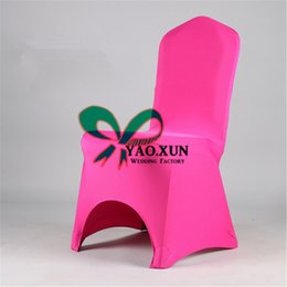 Wholesale Cheap Spandex Chair Covers Wholesale - Acrh Front Lycra Spandex Chair Cover \ Cheap Wedding Banquet Chair Cover