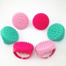 bomba de trado Desconto Handheld Silicone Macio Bath Shower Brush Escova Corporal Removedor De Celulite Massagem Escova Anti Celulite Massageador Redutor